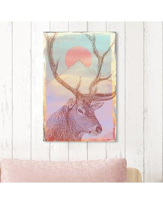 "Ebern Designs 'Forest Majesty Colorful' Graphic Art Print BF185381 Size: 24"" H x 16"" W x 1.5"" D Format: Wrapped Canvas"