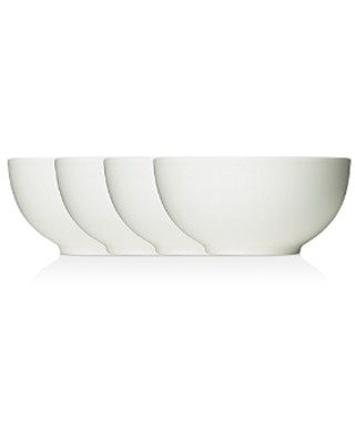 Vera Wang Wedgwood Perfect White Soup/Cereal Bowl 6.9, Set of 4