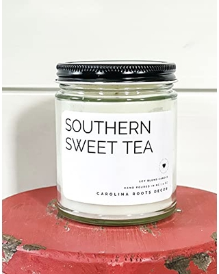 Southern Sweet Tea Candle   Sweet Tea Candle   Floral Candle