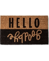 Hello Goodbye Doormat 2'x3' - Room Essentials