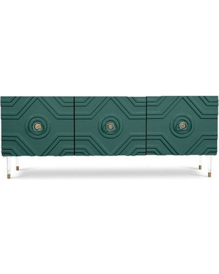 ModShop Naples Buffet Table CRED0047 Color: Hunter Green