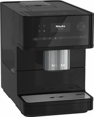 """CM6150OBSW 10"""" Countertop Coffee Machine with OneTouch for Two AromaticSystem Individual Settings Removable Brew Unit and Coffee and Tea Pot"""