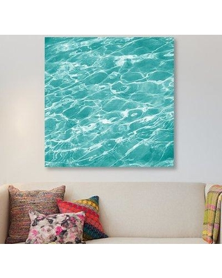 "East Urban Home 'Ripple II' Graphic Art Print on Wrapped Canvas ERNI1136 Size: 18"" H x 18"" W x 1.5"" D"