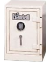 """Gardall 25"""" H x 19.75"""" D U.L. Two-Hour Fire Resistant Record Safe 1812/2 Finish: Maroon With Gold Trim, Lock: Group II Combination Lock"""