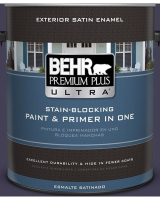 Here S A Great Deal On Behr Ultra 1 Gal Mq5 39 Artistic License Satin Enamel Exterior Paint And Primer In One