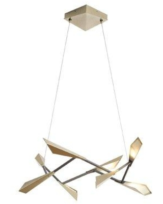 Hubbardton Forge Quill 8-Light LED Novelty Chandelier 135003D-84-NO