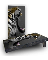 Custom Cornhole Boards Crouching Tiger Cornhole Boards CCB502-C Bag Fill: Heavier Boards with All Weather Bags
