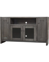 "Darby Home Co Richland Poplar 55"" TV Stand DBHM4307 Color: Gray Stone"