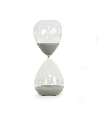Bey-Berk 240 Minute Sand Timer with Gray Sand, Gray