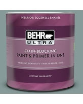 Amazing Deal On Behr Ultra 1 Qt 490f 6 Agave Frond Extra Durable Eggshell Enamel Interior Paint Primer