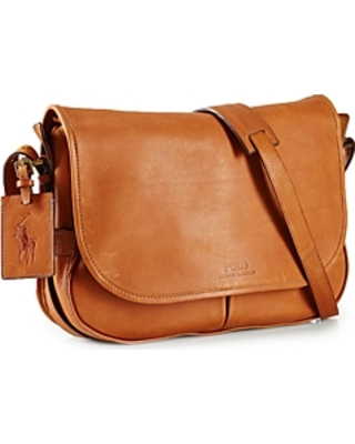 Amazing Deal on Polo Ralph Lauren Core Leather Messenger Bag bcc2475b3642a