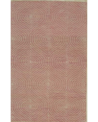 EORC Area, 8' x 10', Hand-Tufted, Wool, Contemporary Rugs,TransitionalRugs, 7'6 x 9'6, Pink