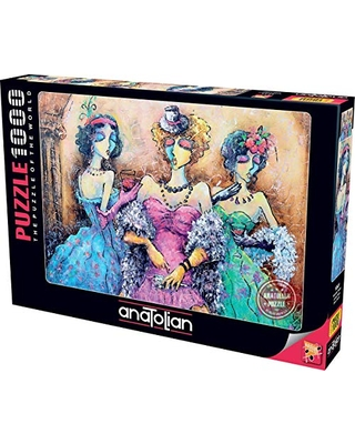 Anatolian 1000Piece Jigsaw Puzzle - Ladies Party Jigsaw Puzzle, Multicolor