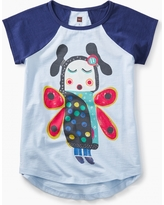 Tea Collection Lomayesva Butterfly Girl Graphic Tee
