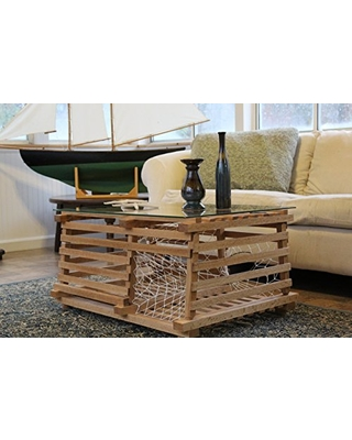 Wondrous Chip Howarth Wood Working Maine Wooden Lobster Trap Coffee Table From Amazon Bhg Com Shop Andrewgaddart Wooden Chair Designs For Living Room Andrewgaddartcom