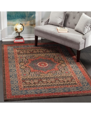 Safavieh Mahal Navy/Red (Blue/Red) 7 ft. x 9 ft. Area Rug
