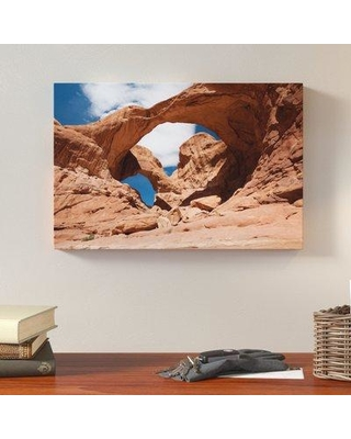 """Loon Peak 'Double Arch Horizontal' by Cody York Photographic Print on Wrapped Canvas LNPK2578 Size: 16"""" H x 24"""" W x 2"""" D"""