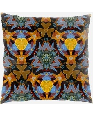 East Urban Home Abstract Throw Pillow W000219431 Location: Indoor