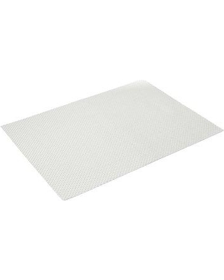 """Chilewich Basketweave Rectangle 19"""" Vinyl Placemat 0025-BASK Color: White"""