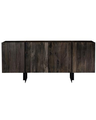 Tiburon Collection SR-1016-24 Sideboard with Iron Base in Natural