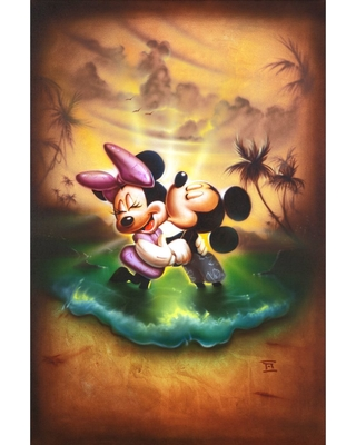 Mickey and Minnie Mouse ''Life With You Is a Dream'' Limited Edition Gicle by Noah Official shopDisney