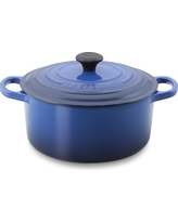 Le Creuset Signature Cast-Iron Round Dutch Oven, 3 1/2-Qt., Lapis