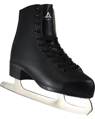 American Athletic Shoe Men's Tricot Lined Figure Skates, Black