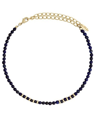 Ettika Still Surprise You in Lapis and Gold Choker Necklace