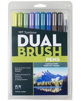 Tombow 10ct Dual Brush Pen Art Markers - Landscape