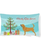 The Holiday Aisle Bloodhound Indoor/Outdoor Lumbar Pillow THLA3976