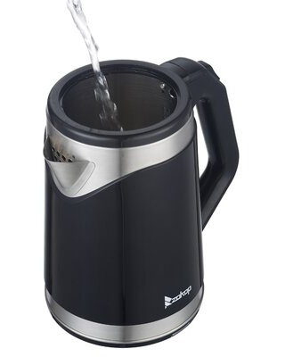 flamingo 1.8 qt. Stainless Steel Electric Tea Kettle