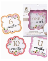 Lillian Rose Baby Belly Stickers, Set of 1-15 - Multi
