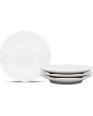 """Noritake Colorscapes Wow Swirl 6.5"""" Appetizer Plate 43 Texture: Dune"""