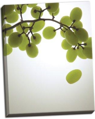 """Ebern Designs 'Grape Bunch I' Photographic Print BF114250 Size: 28"""" H x 22"""" W x 0.75"""" D Format: Wrapped Canvas"""