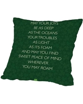 """The Holiday Aisle Brett Wilson St. Patrick's Day Throw Pillow HLDY1140 Size: 20"""" H x 20"""" W x 2"""" D"""