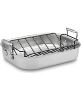 All-Clad Stainless-Steel Small Roaster with Rack