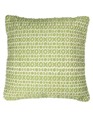 Structure Hugs & Kisses 18 inch Throw Pillow (Green)