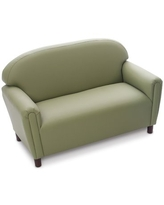 Komfort Preschool Kids Sofa The Children's Furniture Co. Color: Green/Sage