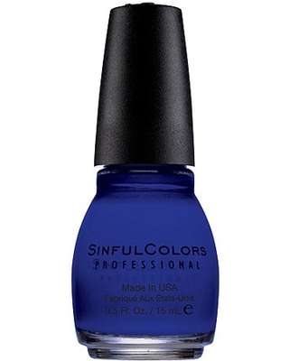 Sinful Colors Professional Nail Polish (Blues), Endless Blue, 0.5 fl oz