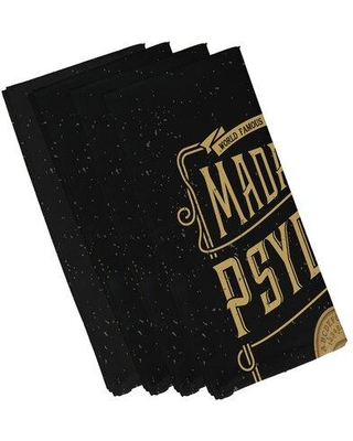 Great Prices For The Holiday Aisle Maser Psychic Eye Halloween 4 Piece Napkin Set Polyester In Gold Size 22 L X 22 W Wayfair Cd8e303c3d00432e8c9e017af2faa31c