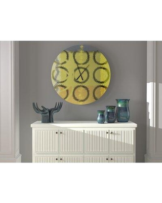 East Urban Home Oversized Artie Wall Clock W000274622 Size: Large