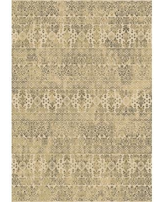 "Astoria Grand Attell Persian Beige Area Rug ASTD3164 Rug Size: Rectangle 5'3"" x 7'7"""
