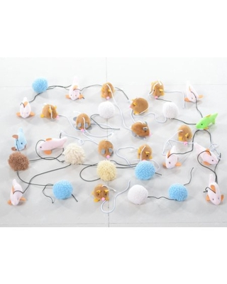 Armarkat Pet Toys for Cats Dogs and Small Animals TOY6-20PCS
