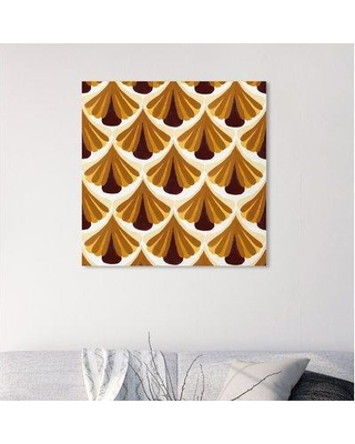 """Wrought Studio 'Throwback Pattern' Graphic Art Print BF185360 Size: 30"""" H x 30"""" W x 1.5"""" D Format: Wrapped Canvas"""