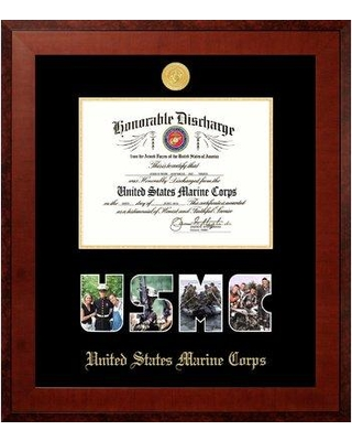 PATF Marine Discharge Honor Picture Frame MADHO001S