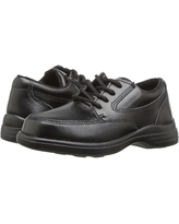 Hush Puppies Kids TY (Toddler/Little Kid) (Black Leather) Boy's Shoes