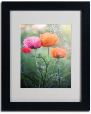 """Trademark Art """"Love Me Again"""" by Philippe Sainte-Laudy Matted Framed Photographic Print PSL0202-B1114MF / PSL0202-B1620MF Size: 14"""" H x 11"""" W x 0.5"""" D Frame Color: Brown"""