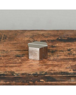 Le Prise™ Cast Iron Hexagon Place Card Holder (Set of 2) X112600080 Color: Nickel