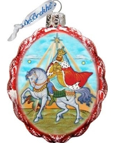 The Holiday Aisle Melchior Three Kings Glass Ornament THLY6715