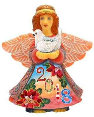 Amazing Sales On The Holiday Aisle Fifield Celebration Angel Scenic Ornament Derevo Collection Wood Size 3 H X 3 W Wayfair 8e9200bc887c44d296ead197dfefbc59